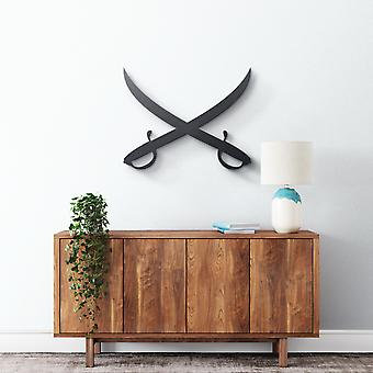 Metal Wall Art - Sabers