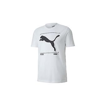 プーマ無益グラフィックティー58155202ユニバーサルサマーメンTシャツ