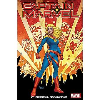 Captain Marvel Vol. 1 - Re-entry by Kelly Thompson - 9781846539732 Book