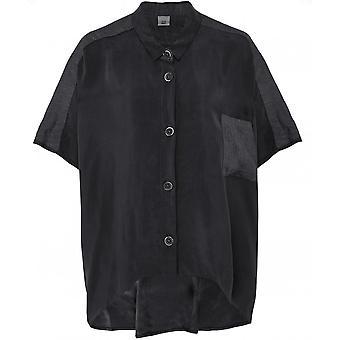 Crea Concept Oversized Linnen Blend Shirt