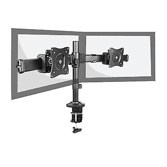 Brateck Outstanding Dual LCD Desk Mounts With Desk Clamp VESA 27""