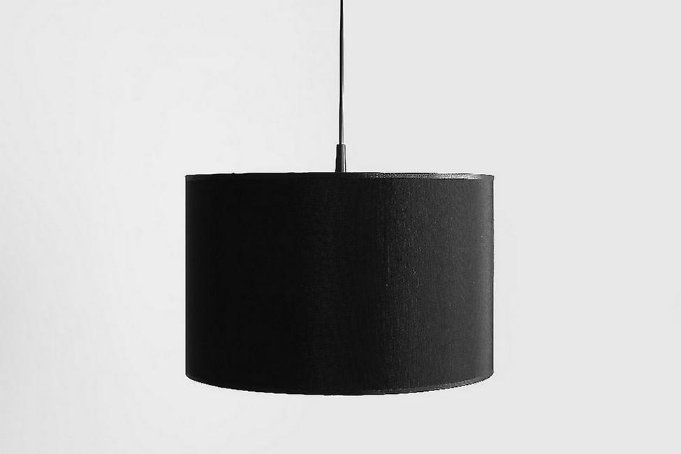 Lampada a Sospensione Apus Colore Nero, Argento in Metallo, Plastica, L40xP40xA88 cm