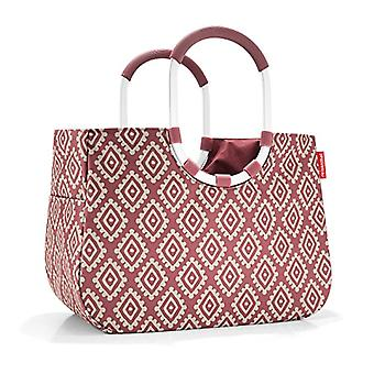 Reisenthel loopshopper L Beach bag 46 cm 25 liters Red (Diamonds Rouge)