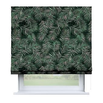 Raffrollo Capri, groen, 130 x 170 cm, Fluweel, 704-21