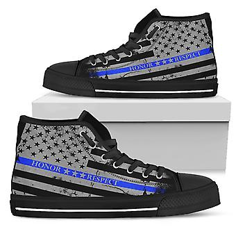 Honor Respect Blue Line Scarpe donna - Top alto donna