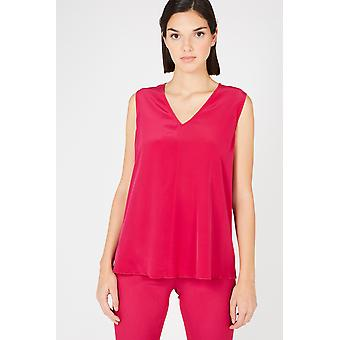 Top Red Twinset Women
