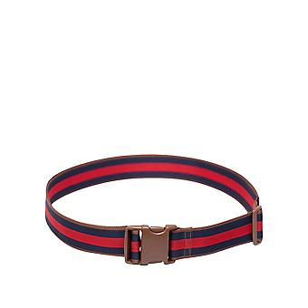Herschel Supply Co. Unisex Luggage Belt Brown-Blue-Red 1.8M