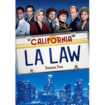 L.a. Law: Seizoen twee [DVD] USA import