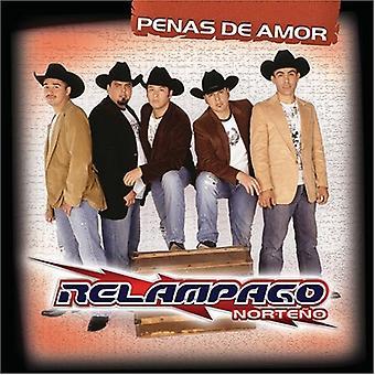 Relampago Norteno - Penas De Amor [CD] USA import