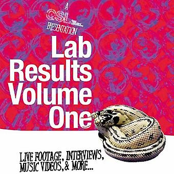 Vol. 1-Lab Results [DVD] USA import