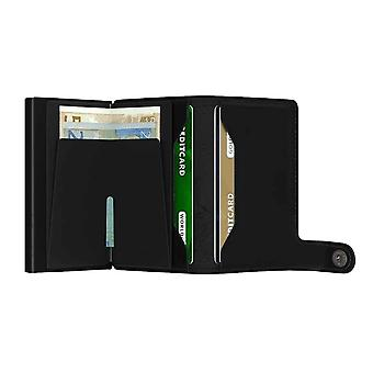 Super Mario Card Wallet ID Embossed Logo new Official Nintendo Black