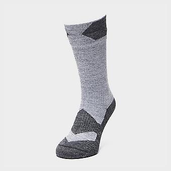 Sealskinz Men's Walking Thin Mid Socks Black