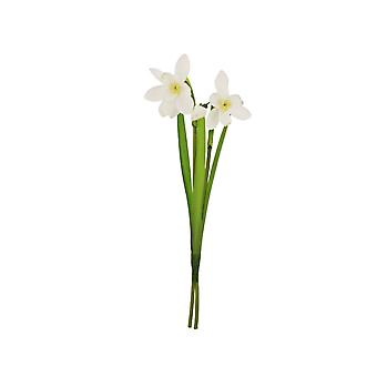 24cm Snowdrop Spray - Artificial Fabric Flowers