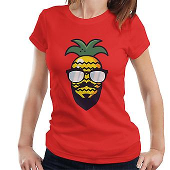 Hipster Ananas Naisten's T-paita