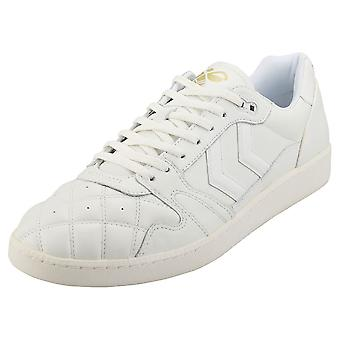 hummel Hb Team Quilt Mens Casual Trainers in White