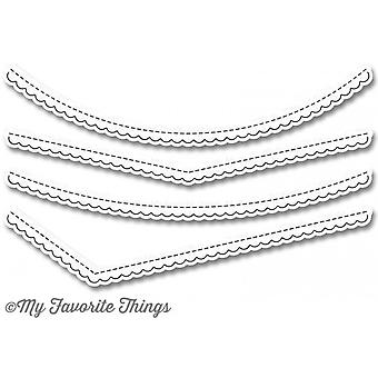 Le mie cose preferite Die-Namics Stitched Scallop Basic Edges