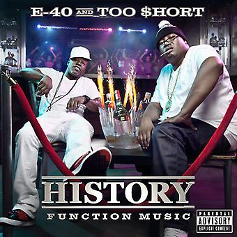 E-40 & Too Short - History: Function Music [CD] USA import