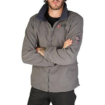 Geographical norway men's long sleeves hidden hood sweatshirt