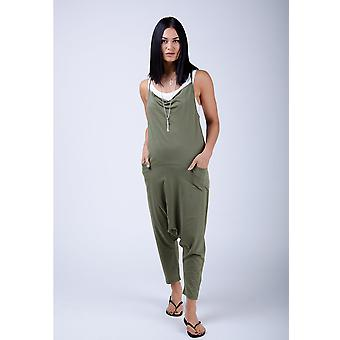 Cindy jersey jumpsuit - green