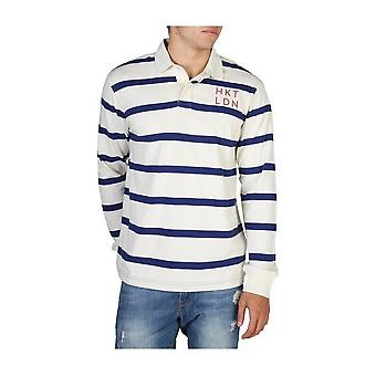 Hackett - Clothing - Polo - HM570733_837 - Men - white,navy - S