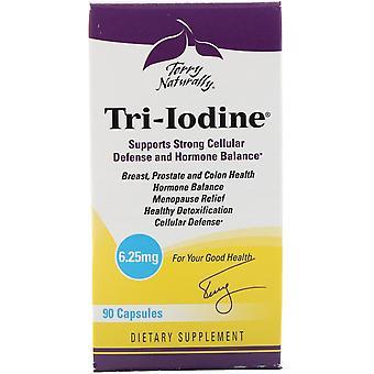 Terry Naturally, Tri-Iodine, 6.25 mg, 90 Capsules