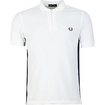 Fred Perry Authentics Taped Zip Neck Polo Shirt