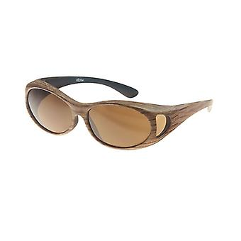 Sunglasses Unisex brown with brown lens Vz0002rb
