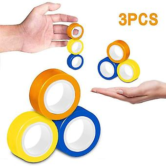 New Antistress Magnetic Ring Magic Props, Decompression