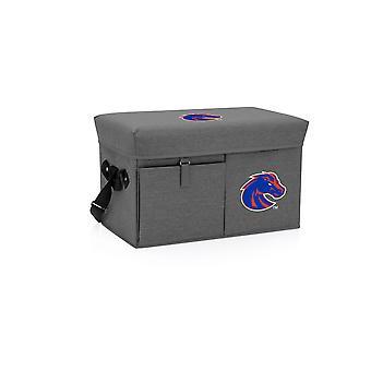 Boise State Broncos - Refrigerador y Asiento Otomano (Gris)