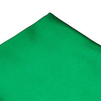 Ties Planet Plain Irish Emerald Green Pocket Square Fazzoletto
