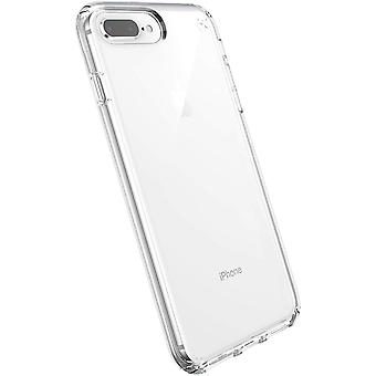 Speck Presidio Stay Clear Case for iPhone 8 Plus, 7 Plus, 6s Plus - Clear/Clear