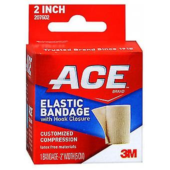 Ace Elastic Bandage With Hook Closure, 2 inches 1 each