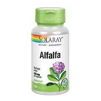 Solaray Alfalfa, 100 kepsar
