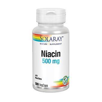Solaray Niacin, 500 mg, 100 Veg Kepsar
