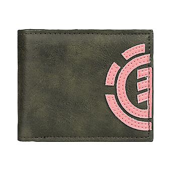 Element Bifold Wallet with CC, Note and Coin Pockets ~ Daily forest
