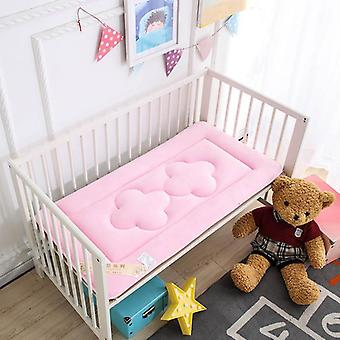 Soft Breathable Baby Bed Mattress, Newborn Crib Sleeper Pad Creeper Mat Cot