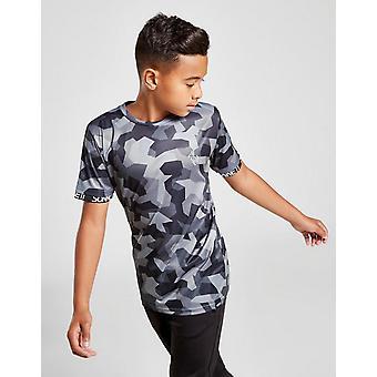 New Sonneti Boys' Bondi Camo Short Sleeve T-Shirt Grey