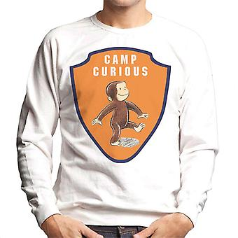 Curieux George Camp Badge Men-apos;s Sweatshirt