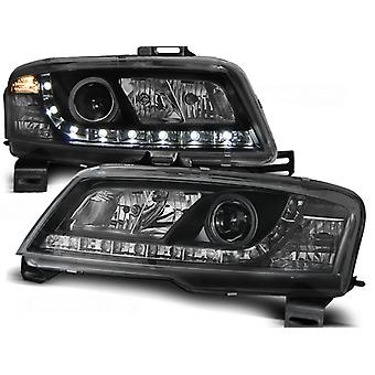 Fari con luce di parcheggio FIAT STILO 3D 10 01-08 NERO