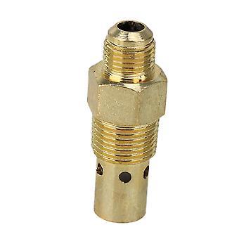 Golden Zinc Alloy 3/8inch PT Male Thread Air Compressor One Way Check Valve