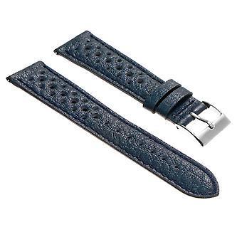 Strapsco dassari bracelet de rallye en cuir perforé libération rapide
