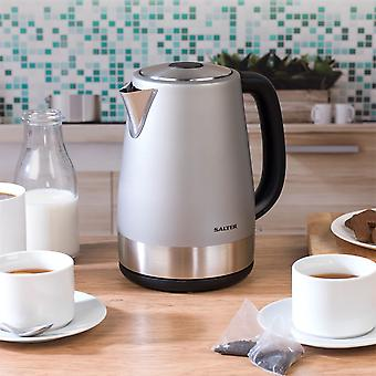 Salter 1.7L Jug Kettle Electric Metallics Polaris Jug 3000W Hot Water Drinks