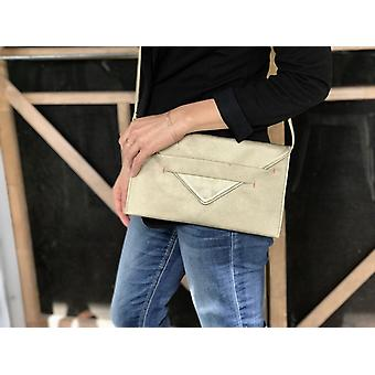 Vegan Crossbody Clutch Bag