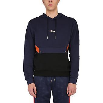 Fila 687927a718 Men's Blue Cotton Sweatshirt
