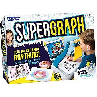 John Adams Super Graph Drawing Station
