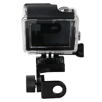 Motorcycle Rearview Mirror CNC Aluminum Alloy Stent Fixed Bracket Holder for GoPro  NEW HERO /HERO6  / 5 /5 Session /4 /3+ /3 /2 /1, Xiaomi Xiaoyi, SJ