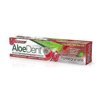 Aloedent Triple action pomegranate toothpaste 100 ml