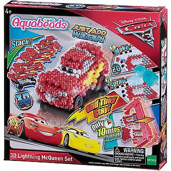 Aquabeads Disney Cars Autos 3D Flash McQueen Set Wasserperlen