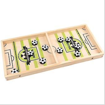Parent Child Double Board Game Versus Toy Catapult Chess Wooden Sling Ice Hockey Table Game For Adult Children