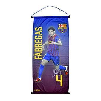 FC Barcelona Official Cesc Fabregas Football Player Pennant